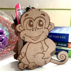 Hộp bút khỉ con