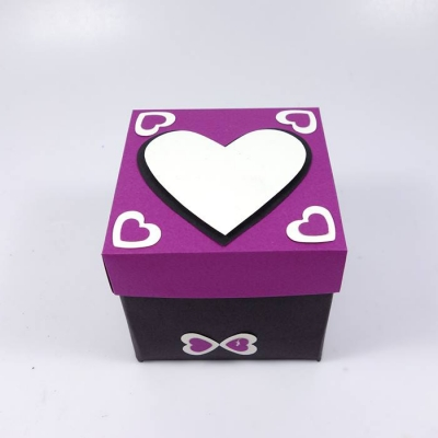 Endless love box purple