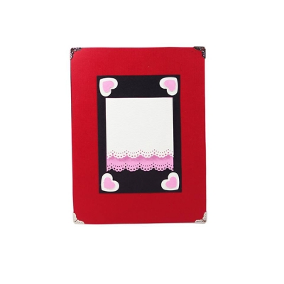 Fly scrapbook red